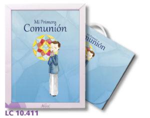 Libro comunion maletin lc10411 niño natural paper