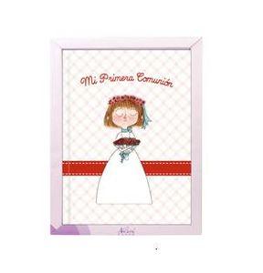 Libro comunion lc10622 niña natural paper