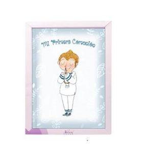 Libro comunion lc10623 niño natural paper