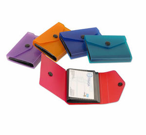 Tarjetero mini supra 105x16 para 40 tarjetas colores surtid
