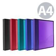 Carpeta a4 2 anillas 16mm supra pp colores surtidos