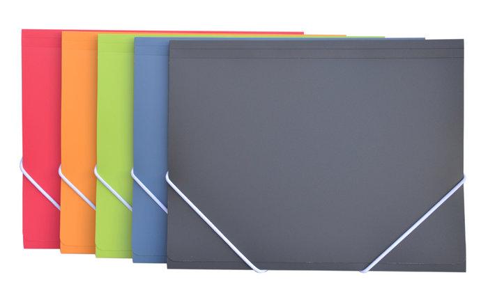 Carpeta de gomas a5 vital colors