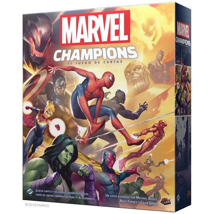 Juego marvel champions: el juego de cartas