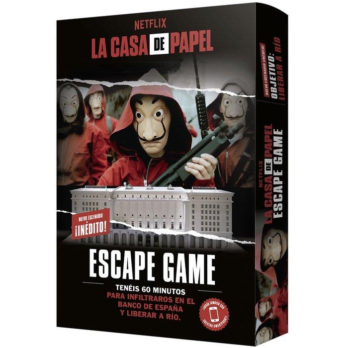 Juego de mesa la casa de papel: escape game 2