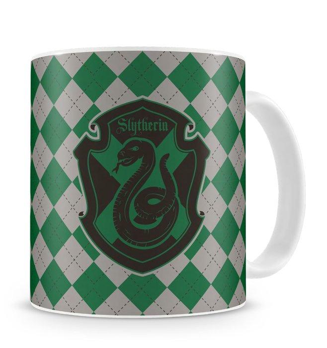 Taza ceramica slytherin harry potter