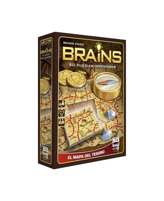 Juego de mesa brains mapa del tesoro