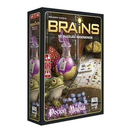 Juego de mesa brains pocion magica