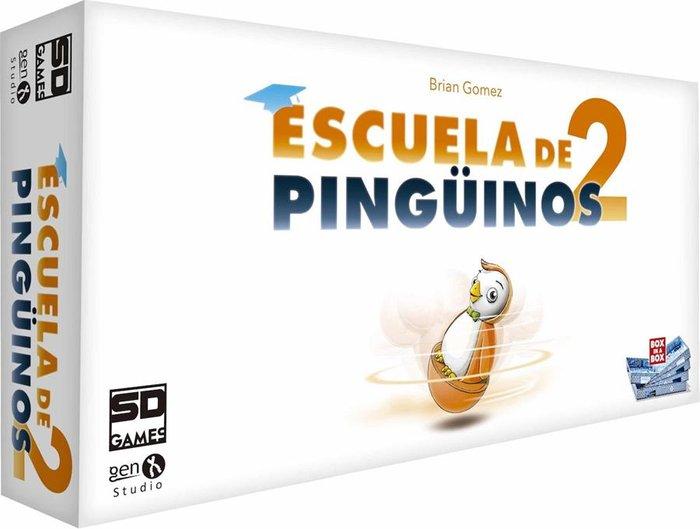 Juego de mesa escuela de pinguinos 2