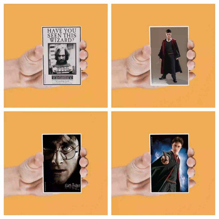 Set 4 imanes lenticulares harry potter