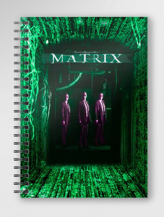 Libreta espiral matrix
