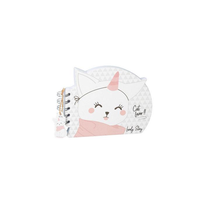 Cuaderno con forma gato
