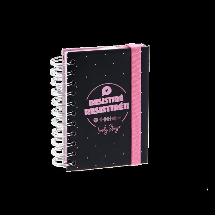 Cuaderno a6 con 120 hojas 80gr - coleccion  resistire