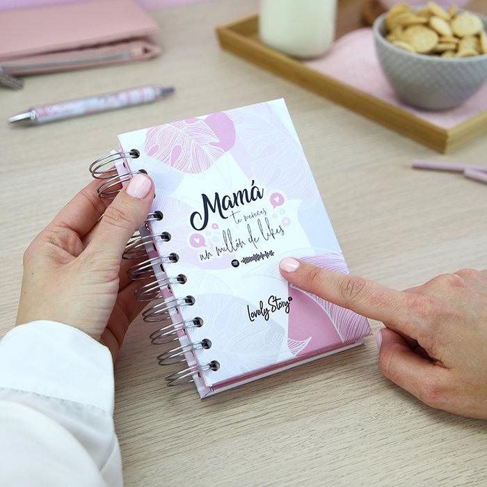 Cuaderno a6 120 hojas 80gr - coleccion  mama influencer