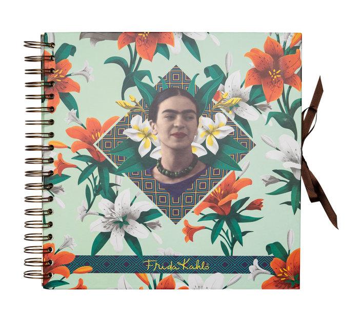 Scrapbook album foto 26 x 26 cm 40 pgs frida kahlo