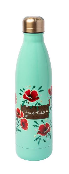 Botella metalica frida kahlo