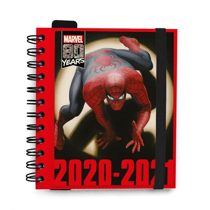 Agenda escolar 2020/2021 dp m marvel classic
