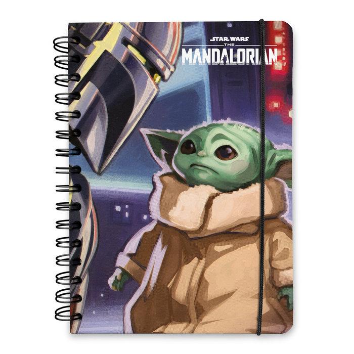 Cuaderno tapa forrada a5 bullet star wars the mandalorian 2