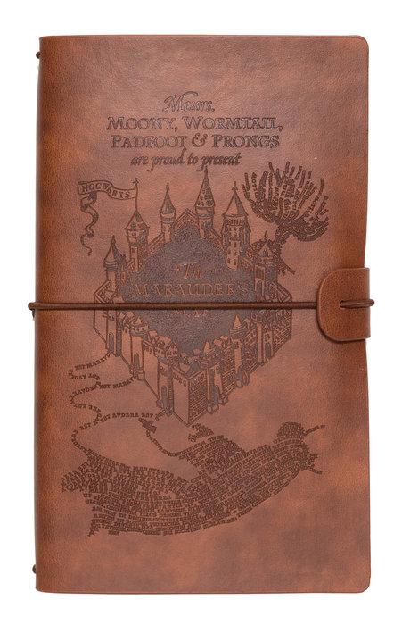 Cuaderno de viaje tapa cuero harry potter