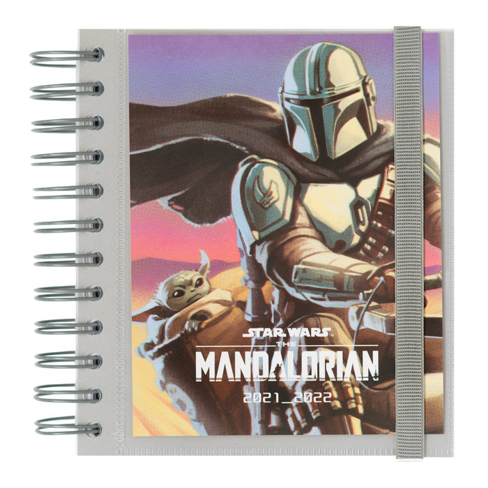 Agenda escolar 2021/2022 dia pagina m star wars mandalorian