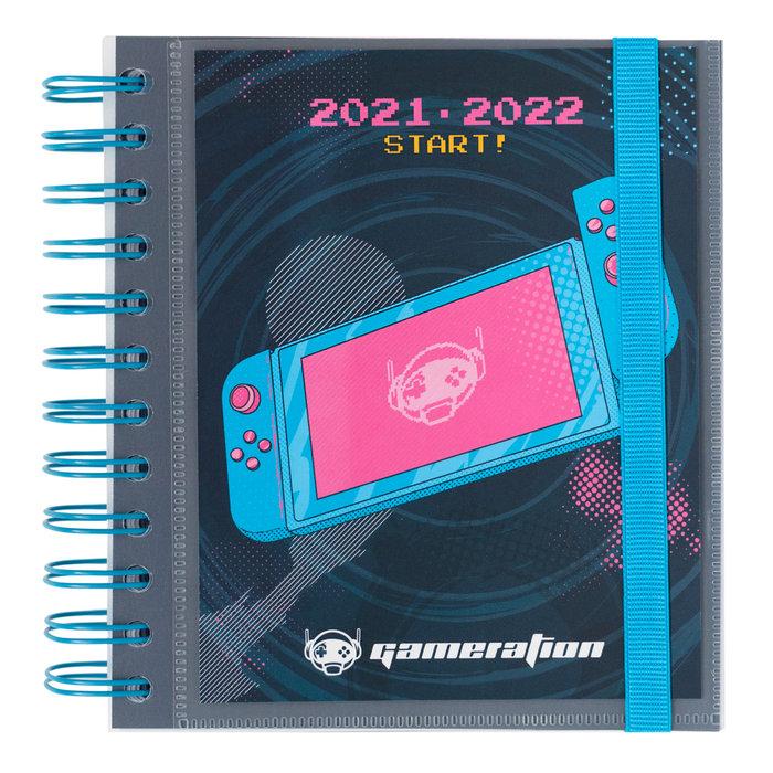 Agenda escolar 2021/2022 dia pagina m gameration