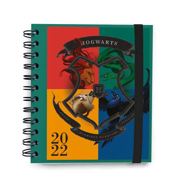 Agenda anual 2022 dia pagina m harry potter