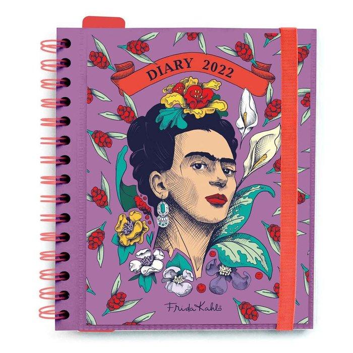 Agenda anual 2022 dia pagina m frida kahlo