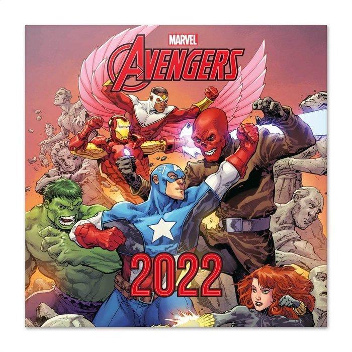 Calendario 2022 30x30 marvel los vengadores