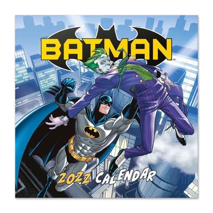 Calendario 2022 30x30 dc comics batman