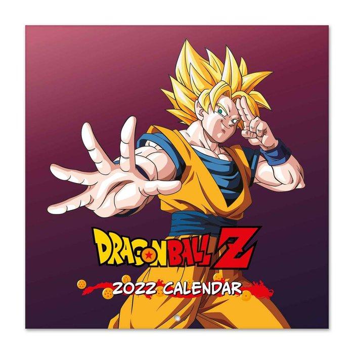 Calendario 2022 30x30 dragon ball