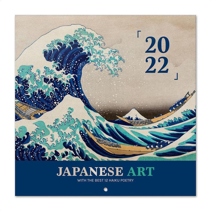 Calendario 2022 30x30 japanese art