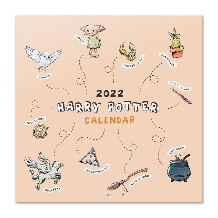 Calendario 2022 30x30 harry potter magical moments