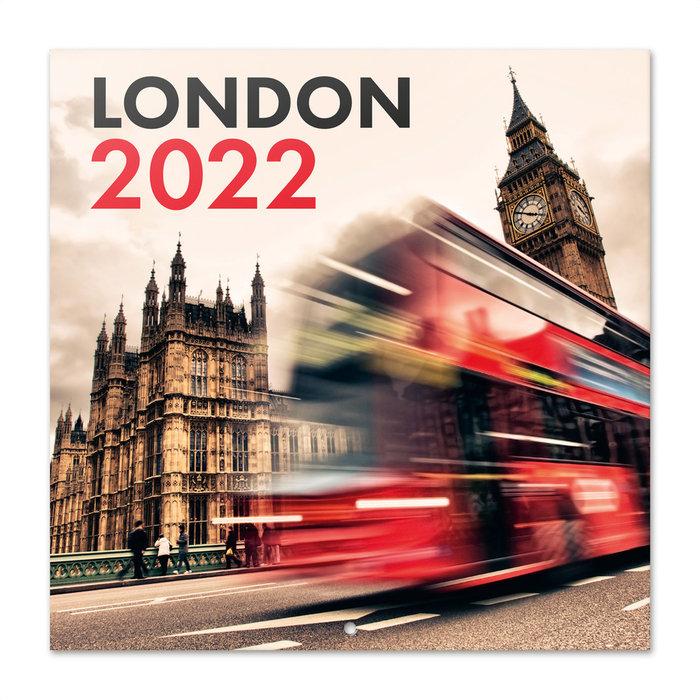 Calendario 2022 30x30 londres
