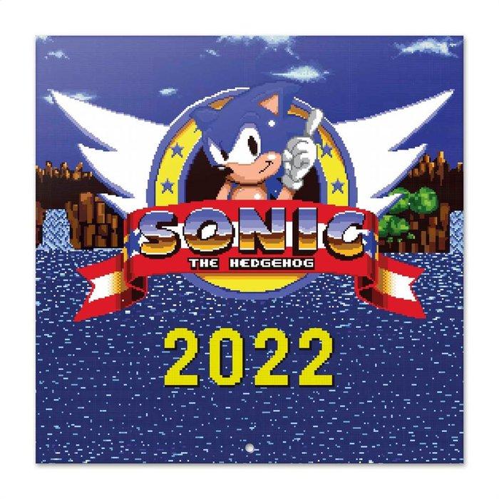 Calendario 2022 30x30 sonic