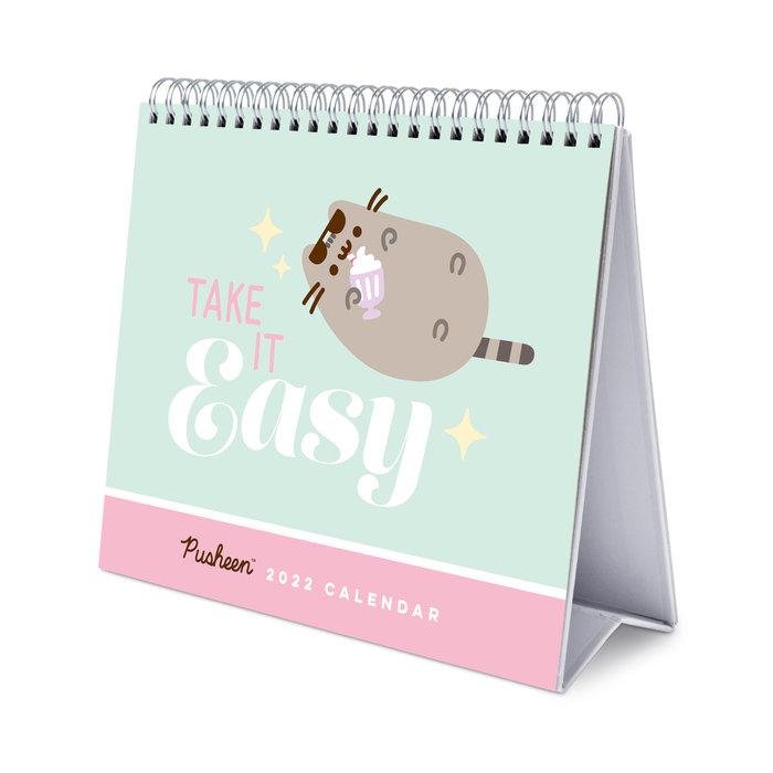 Calendario escritorio deluxe 2022 pusheen foddie collection
