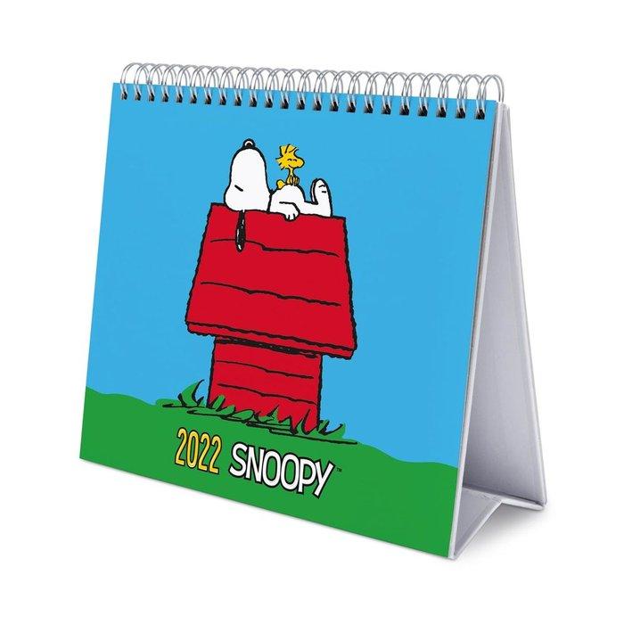 Calendario de escritorio deluxe 2022 snoopy