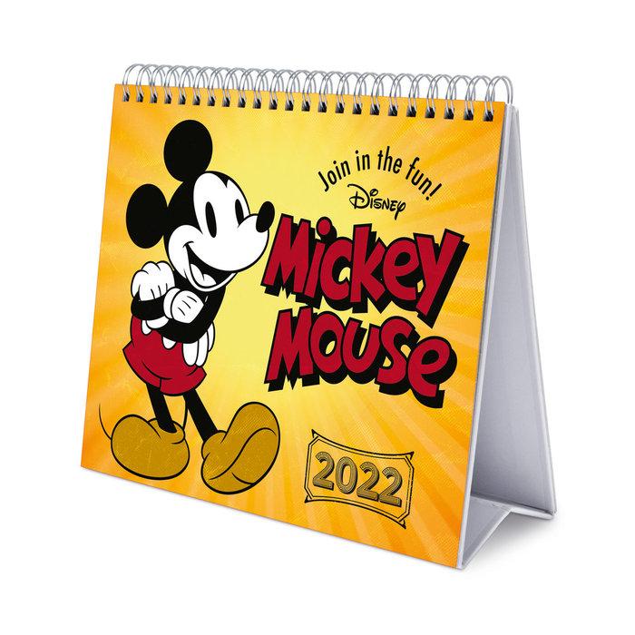 Calendario de escritorio deluxe 2022 disney mickey