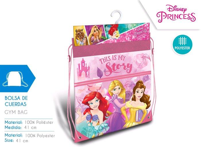 Gym bag princesas 42cm
