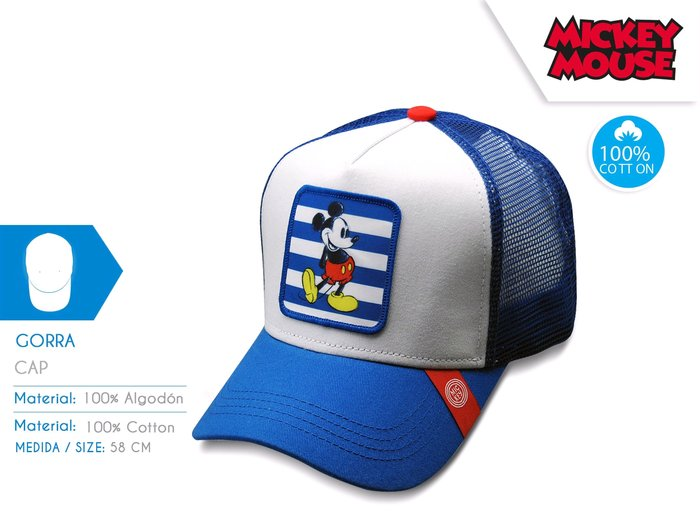 Gorra mickey young teenager