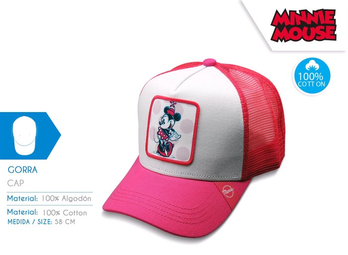 Gorra minnie young teenager
