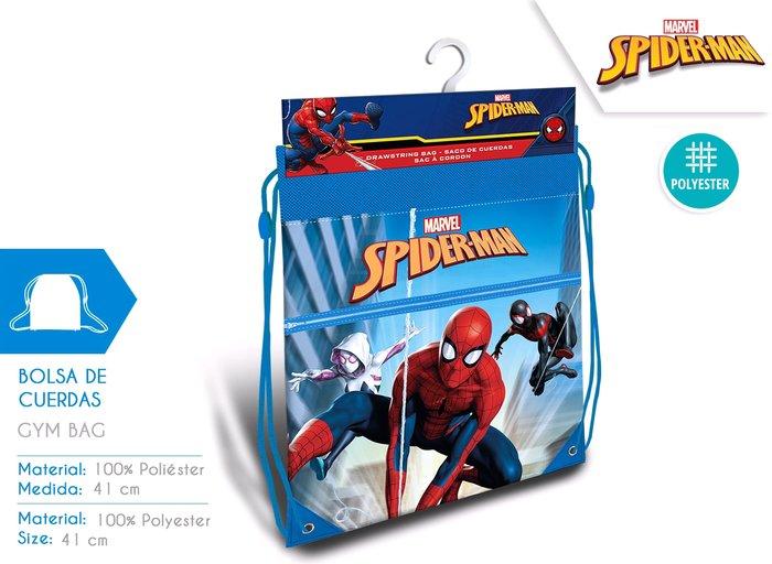 Bolsa de deporte spider-man 42cm
