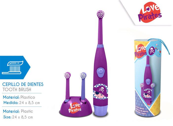 Cepillo de dientes piratas