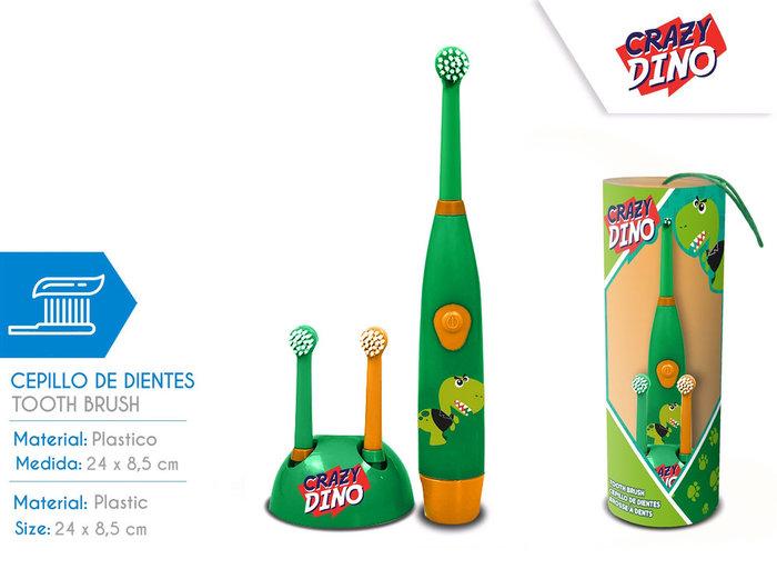 Cepillo de dientes dinosaurios