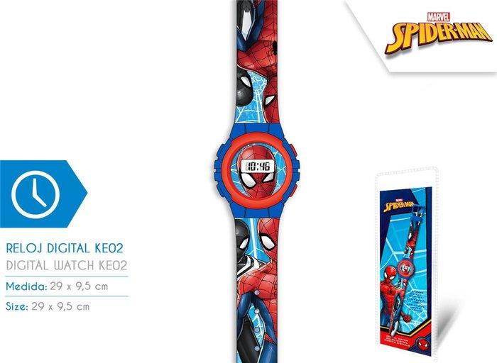 Reloj digital ke02 spiderman