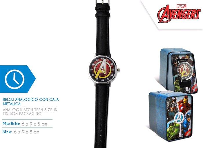 Reloj analogico avengers