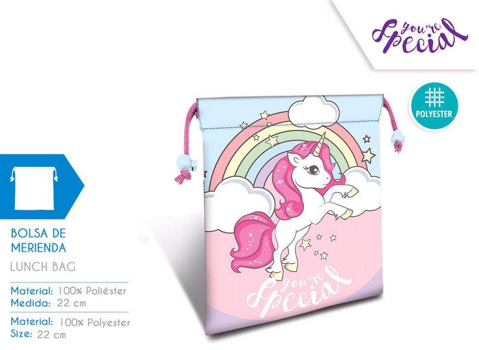 Portameriendas 22cm unicorn