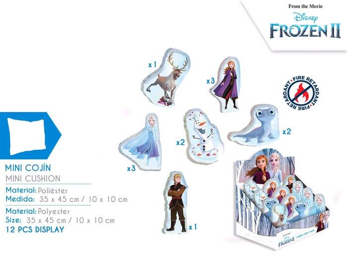 Expositor mini cojines surtidos frozen