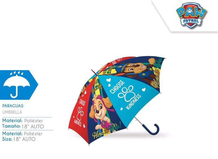 Paraguas 46cm auto paw patrol