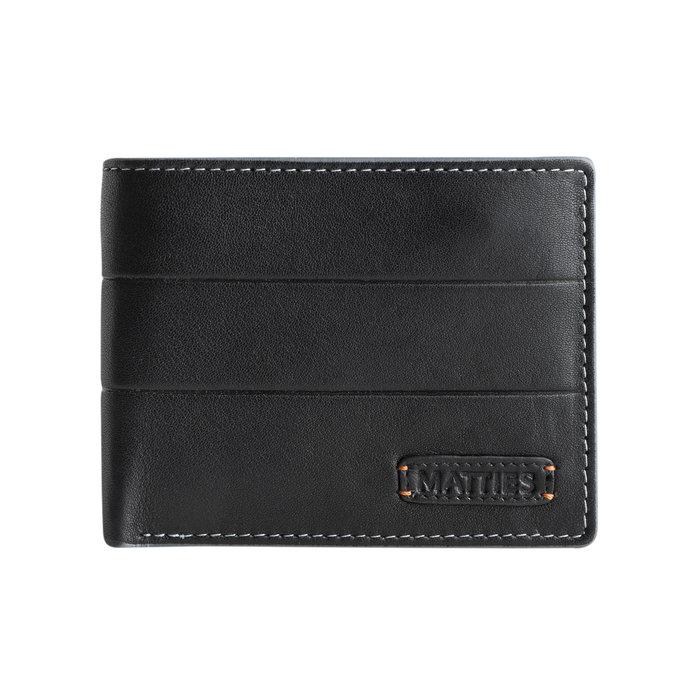 Billetero americana mapra leather negro