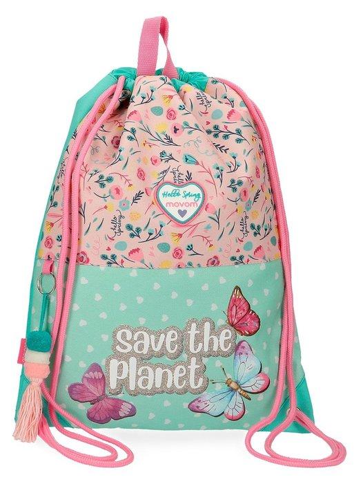 Mochila saco movom save the planet