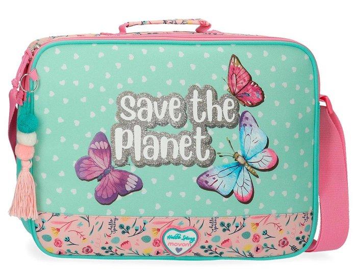 Cartera escolar movom save the planet